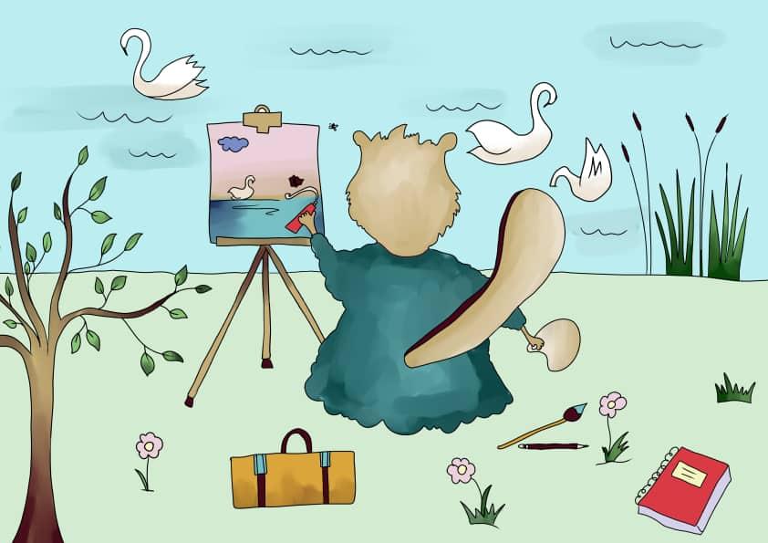 Bajka o malarzu